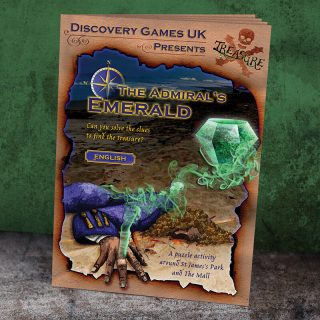 Clue Hunt Booklet - The Admiral's Emerald