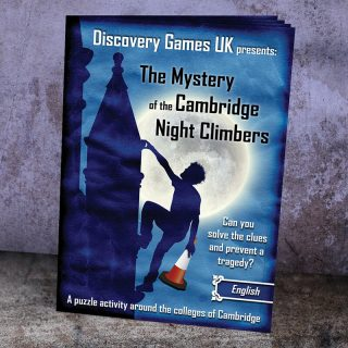 Clue Hunt Booklet - The Mystery of the Cambridge Night Climbers