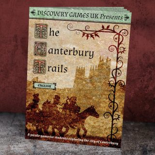 Clue Hunt Booklet - The Canterbury Trails, Discovery Games UK