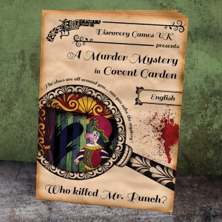 Clue Hunt Booklet - Who Killed Mr Punch?
