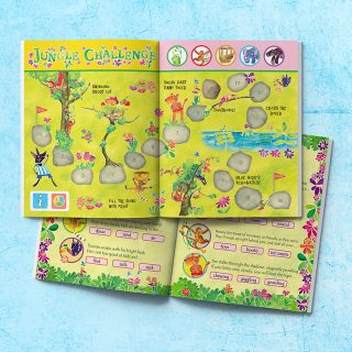Activity page design - Sports Day in the Jungle