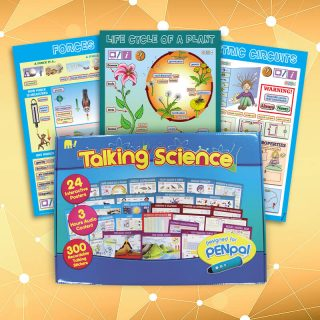 Design of educational Talking Science posters