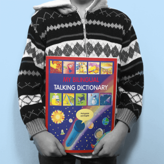 Book cover design - bilingual dictionary for children