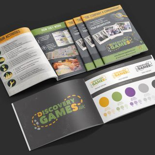brand design - Discovery Games UK